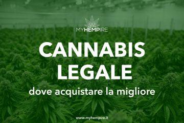 Dove acquistare cannabis legale in Italia ? La migliore Cannabis Light Erba Legale Online